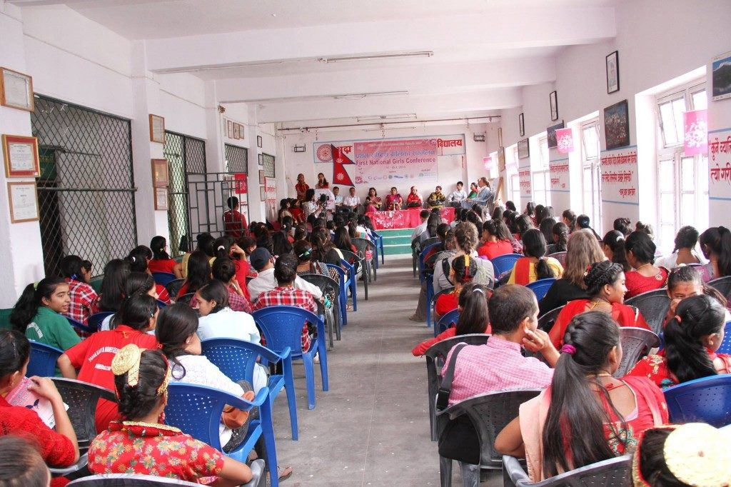 First National Girls Conference in Nepal